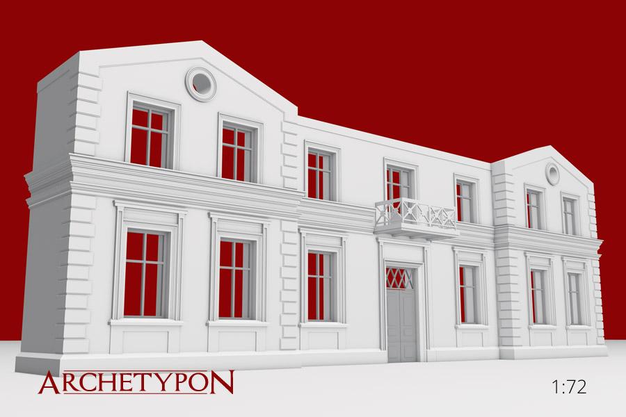 Fasada Budynku Mieszkalnego Archetypon 72b1605
