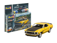 69 Ford Mustang Boss 302 Model Set