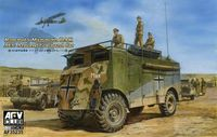 Rommels Mammoth DAK AEC Armored Command Car