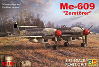 Me-609 Heavy Fighter - bomber - Image 1