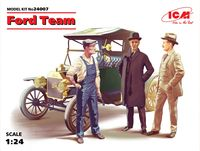 Ford team ( model T 1913 Roadster/3 fig)