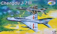 Chinese Chengdu J-7 III (limited edition)