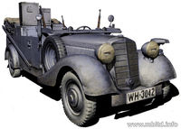 Sd.Kfz. 2 Type 170VK German military radio car - Image 1