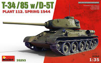 T-34/85 w/D-5T PLANT 112. SPRING 1944 - Image 1