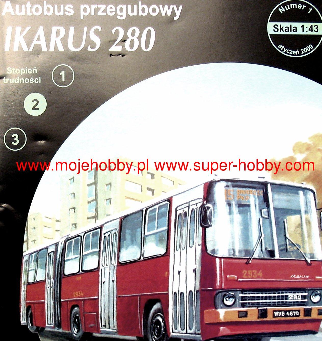 Autobus Przegubowy Ikarus 280 Answer Et1 2009