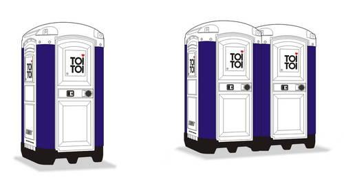portable toilet toi toi 2 pcs full resin kit 1 72 cmk mv109. Black Bedroom Furniture Sets. Home Design Ideas